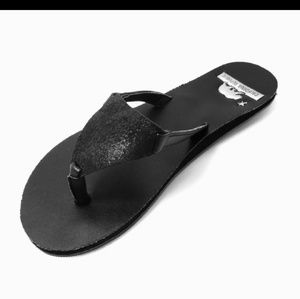 Other - Black Leather Sandals Size 3
